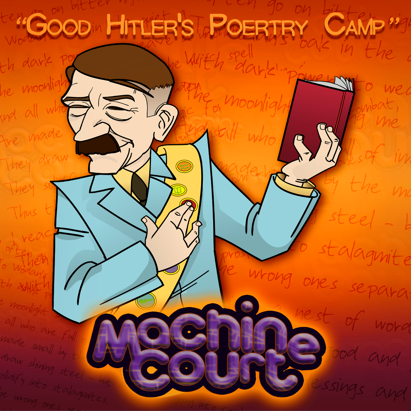 "2.b2 ""Good Hitler's Poetry Camp"""