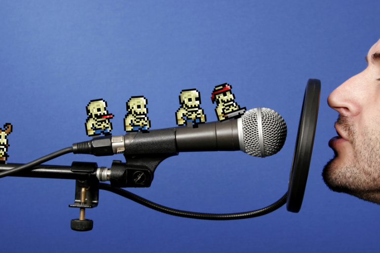 Free voice acting for your game.